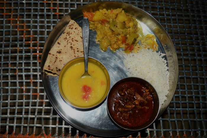 menú típico rajastan