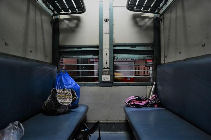 Extraños en un tren a Jaisalmer