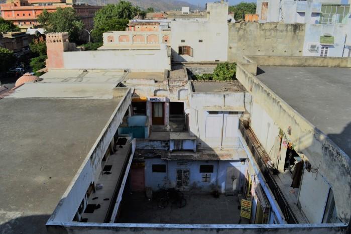 Tejados de Jaipur India