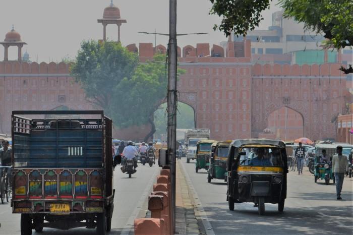Jaipur La India rosa