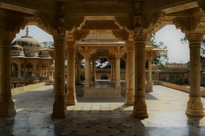 Cenotafios reales Jaipur