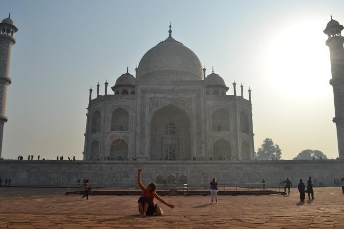 Ángela y el Taj Mahal