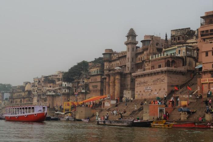 Llegada a Varanasi La India