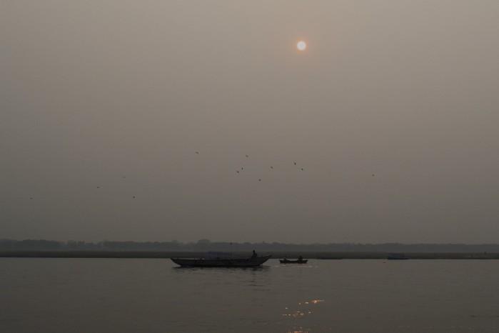 Sunset Ganges India