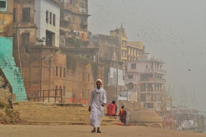 Ghats Varanasi La India
