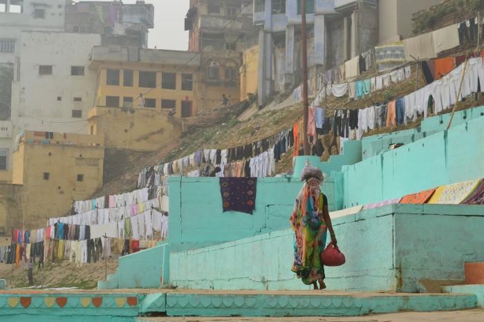 Ghats Varanasi India