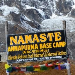 Annapurna. Capítulo tres: una marca de altura