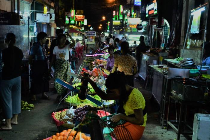 19th street yangon