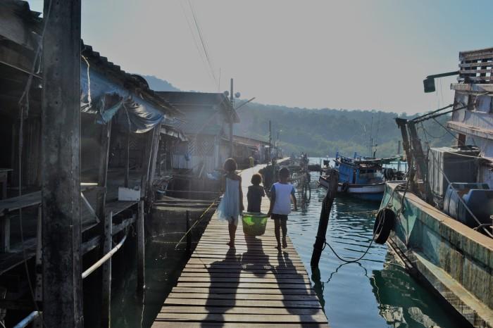 pueblo pescadores koh kood