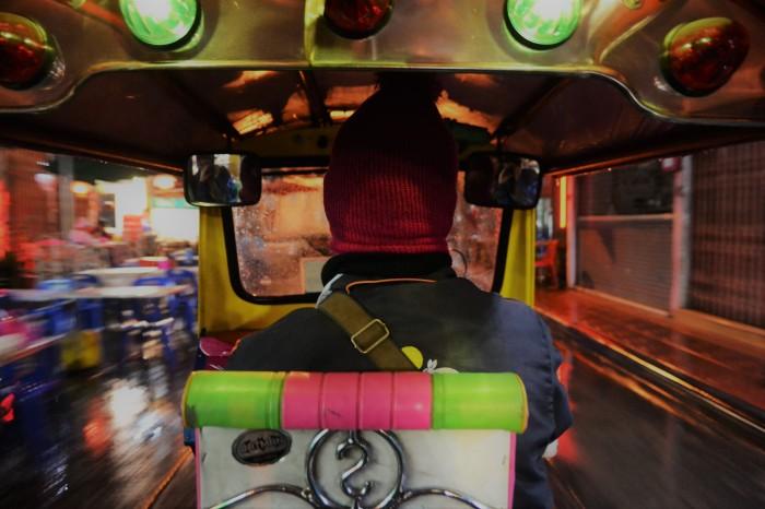 transporte barato bangkok