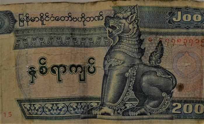 moneda oficial de MYANMAR