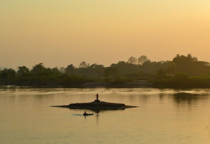 atardecer 4000 islas de Laos