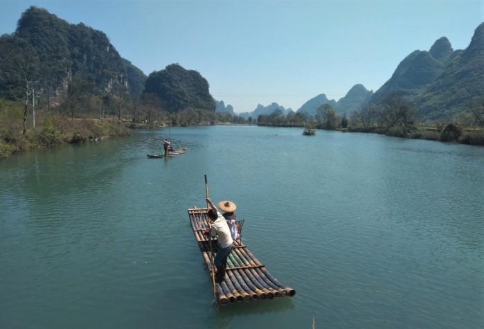 crucero por el río Li
