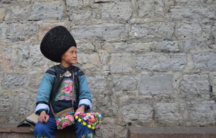 traje típico fenghuang china
