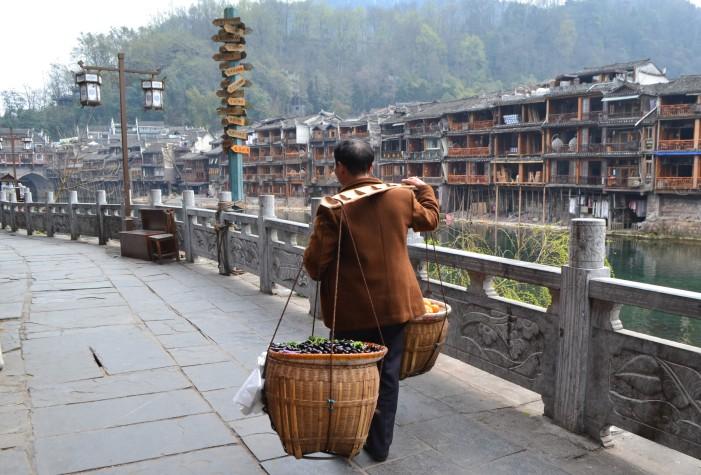 vendedor ambulante Fenghuang