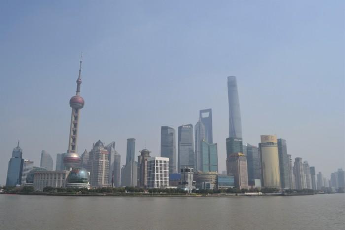 mejor vista de Shangai