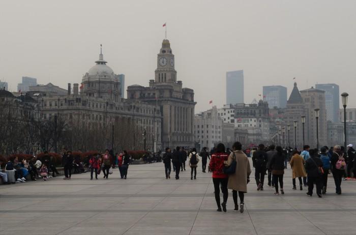 cómo llegar al bund de Shangai