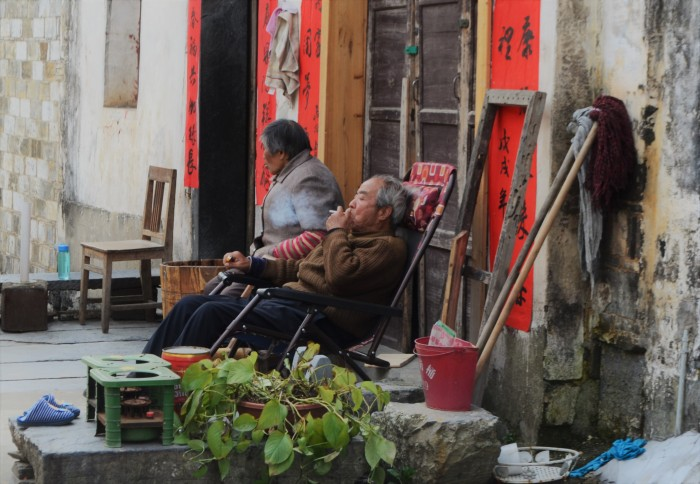 gente local hutong