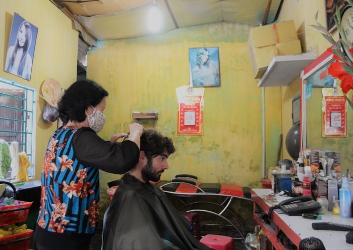 peluquería moderna vietnam