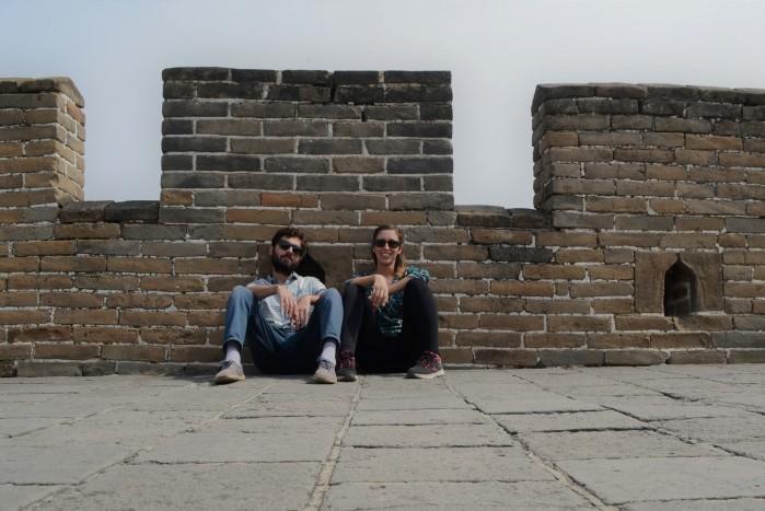 dos en la muralla china