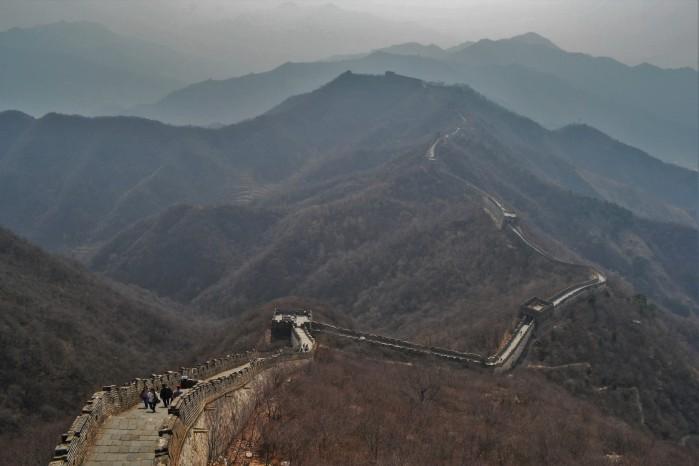 mejor vista de la gran muralla china