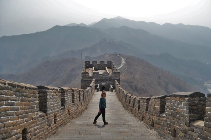 mejores vistas de la gran muralla china