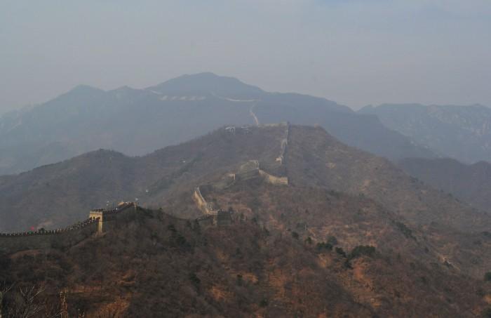 cómo llegar a la muralla china