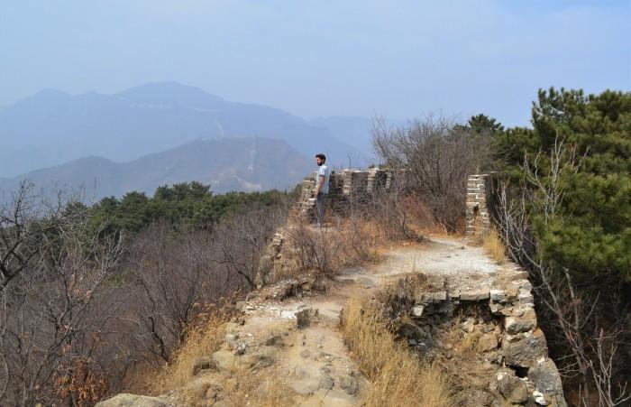 trekking gran muralla china mutianyu