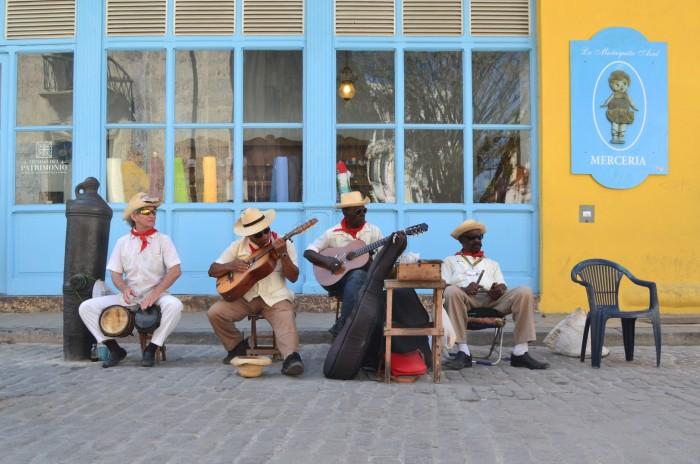 música callejera habana