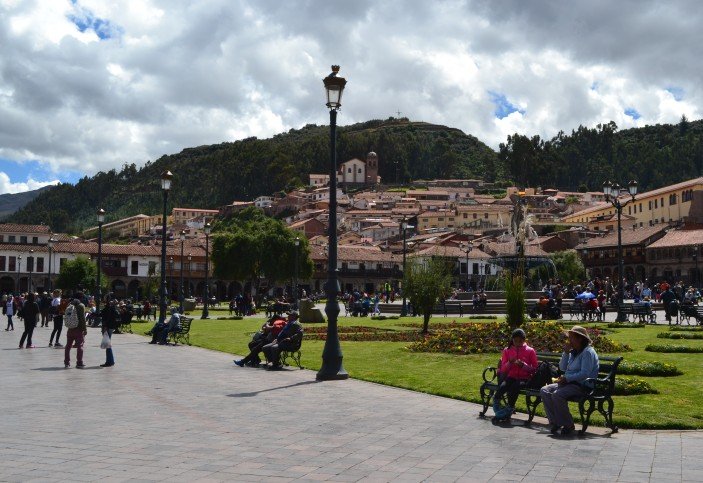plaza principal cusco
