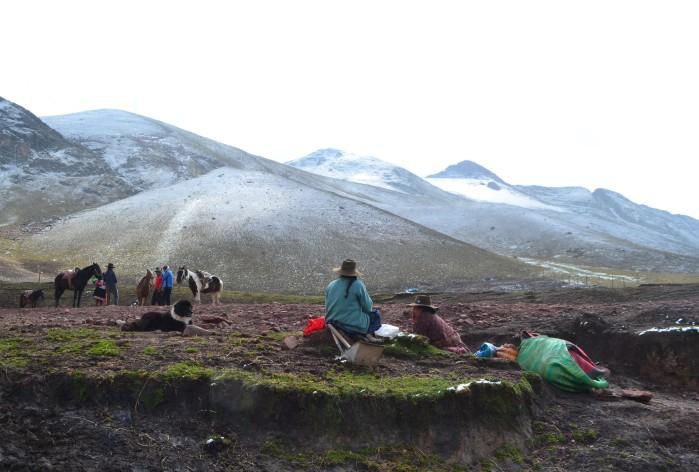 ascenso montaña perú