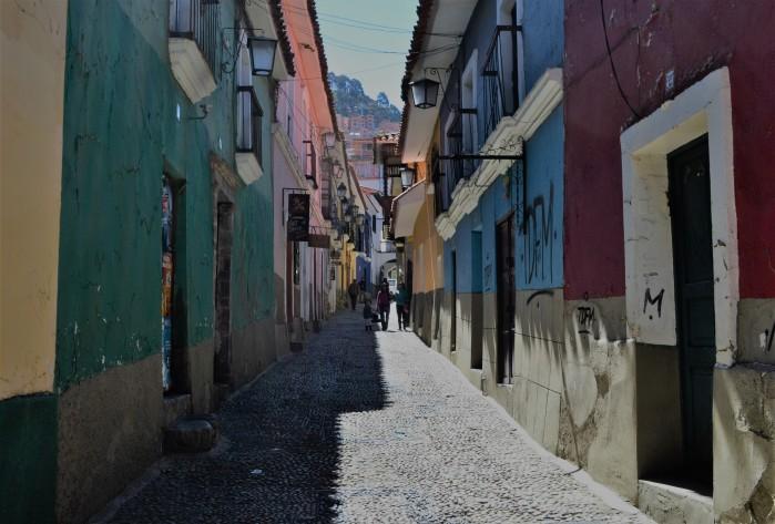 Calle Jaén La Paz