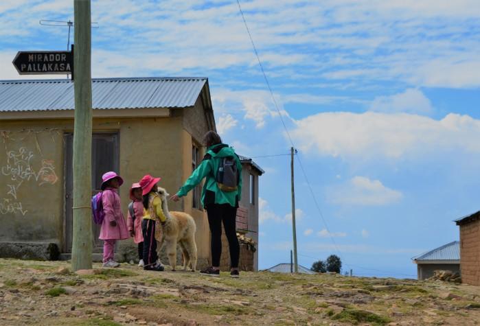 comunidad yumani isla del sol