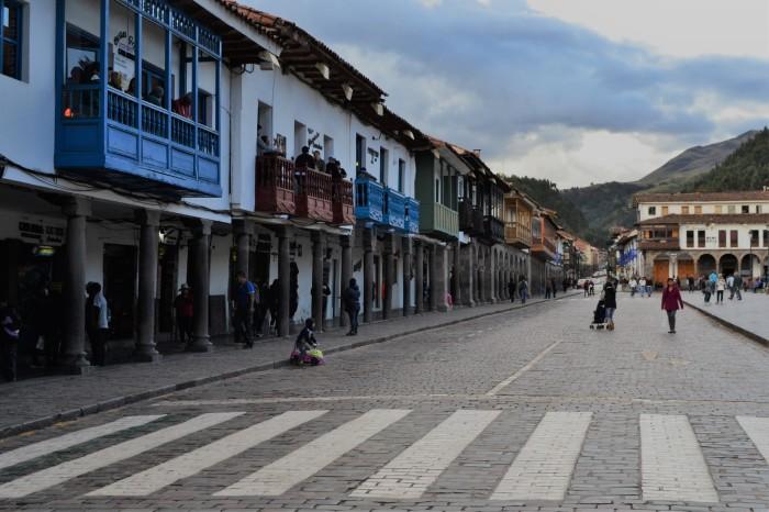 cuzco plaza armas