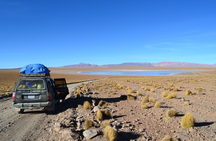 Laguna azul Bolivia