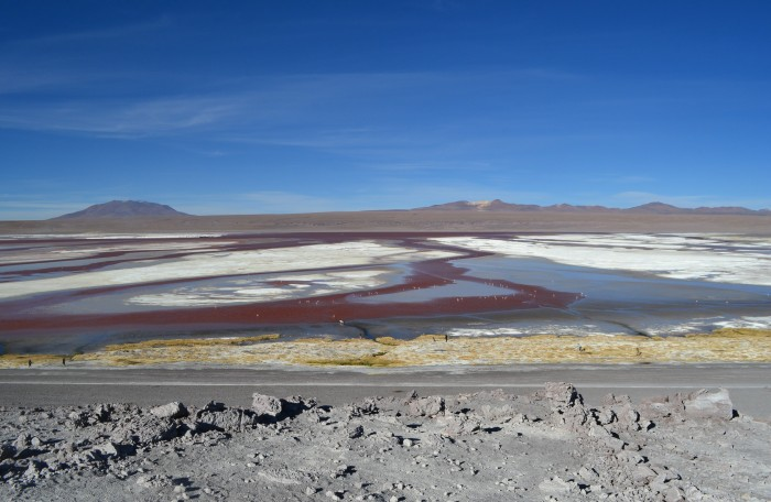 Paisaje boliviano increíble