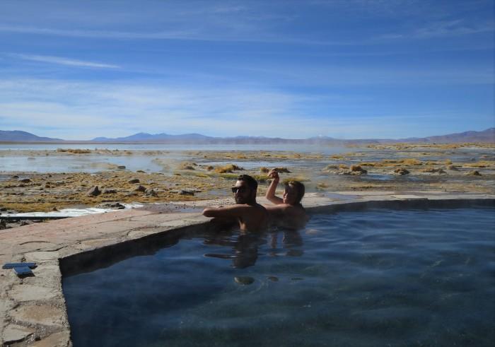 Paraíso termal en Bolivia