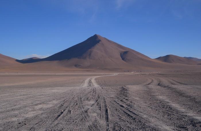 Ruta cuatro días hasta Uyuni