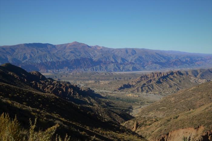 Vista panorámica de Tupiza