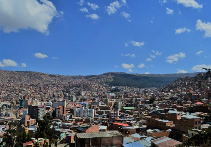 vista panorámica La Paz