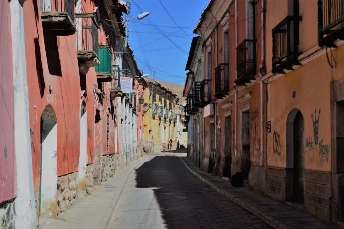 Zona histórica Potosí