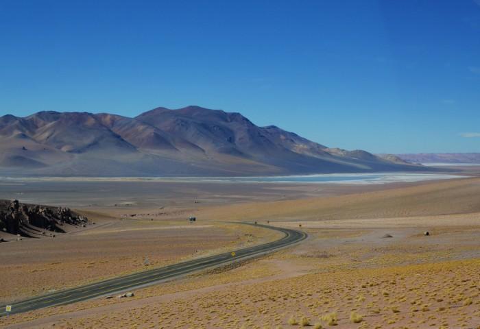 Camino a Argentina