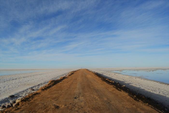Carretera al Salar de Uyuni