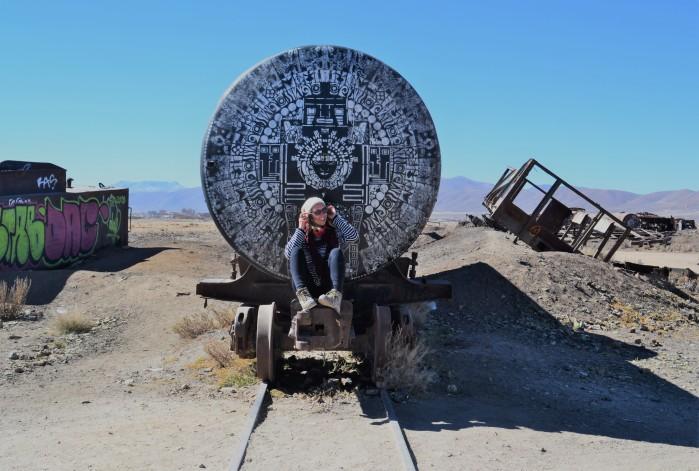 Cementerio de trenes bolivianos