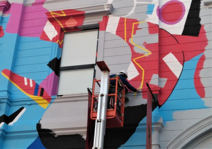 Obras con color