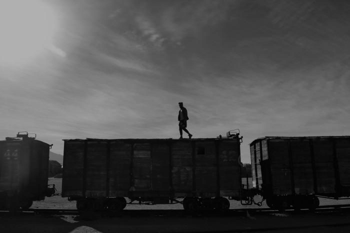 Tren hacia Uyuni