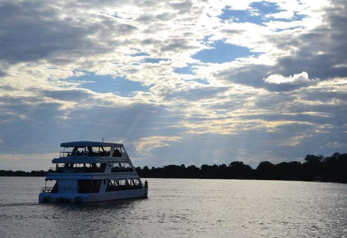Navegando el río Zambeze