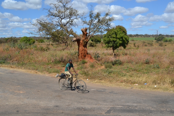 África en bicicleta