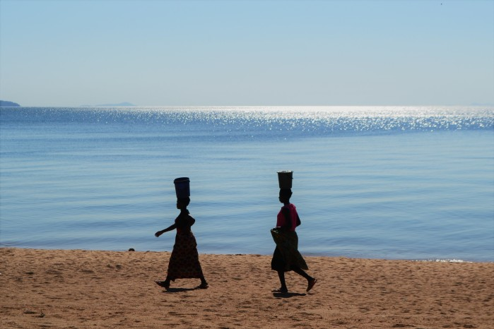 Mujeres lago Malaui