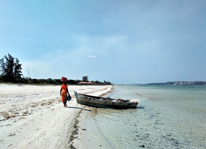 Playa de Bilene Mozambique